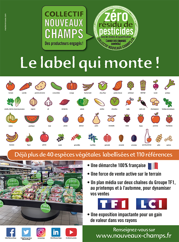 https://www.madeinmouse.comAvril 2019, Zéro Résidu de Pesticides : le label qui monte !